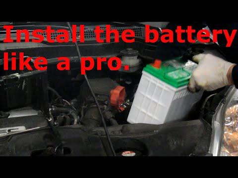 how to change honda crv battery