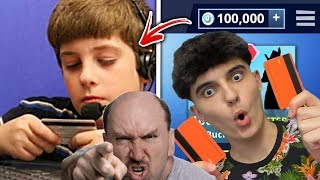TOP 5 KIDS WHO STEAL DEBIT CARD FROM PARENTS FOR FORTNITE V-BUCKS 💳😡!