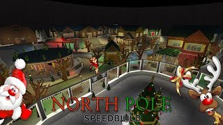 Roblox Bloxburg | North Pole Speedbuild