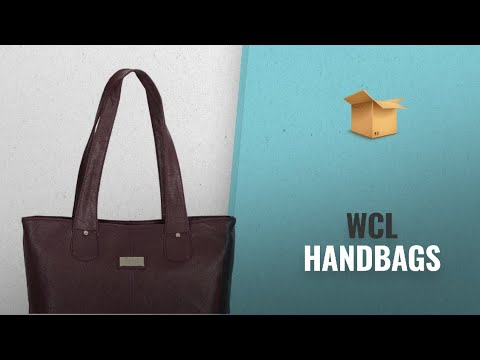 Amazing Wcl Handbags Collection [2018]: World Class Leather Women's Hand Bag (WCL_181_DB1E,Purple)