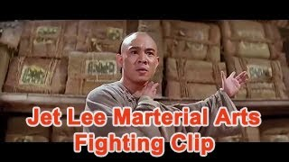 Jet Lee Martial Arts Fighting Clip Fei-hung Wong