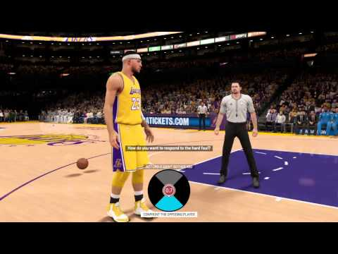 NBA 2K15:My career Fight with Kevin Durant