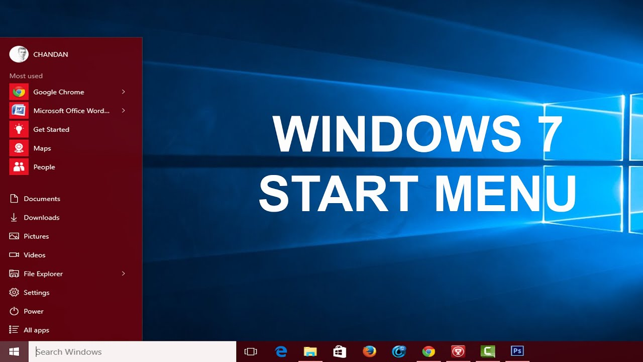 how to change windows 10 to classic