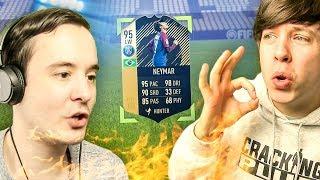 OMFG I GOT THE NEW 95 IF NEYMAR!!!! - FIFA 18 ULTIMATE TEAM PACK OPENING
