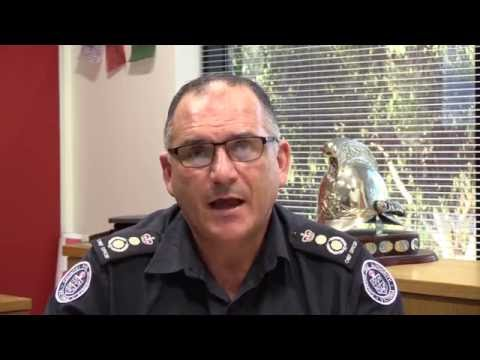 Chief Officer message