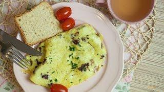 3 pomysły na omlet jajeczny - Zdrowe i pyszne śniadanie   Ugotowani.tv HD