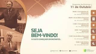 CULTO VESPERTINO 16H   Igreja Presbiteriana de Pinheiros   IPP TV   Ao Vivo