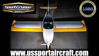 SportCruiser light sport aircraft, aircraft review part 1.