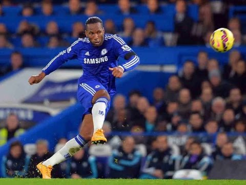 Didier Drogba :TOP 10 best GOALS in chelsea