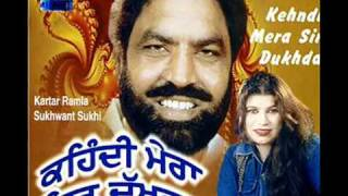 Theke Ton Lai Leya Adhiya (Kartar Ramla & Sukhwant Sukhi) Old Punjabi Duet