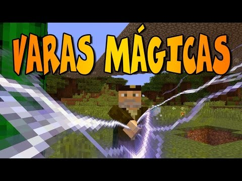 VARAS MÁGICAS!! | WONDERFUL WANDS MOD | Minecraft Mod Review