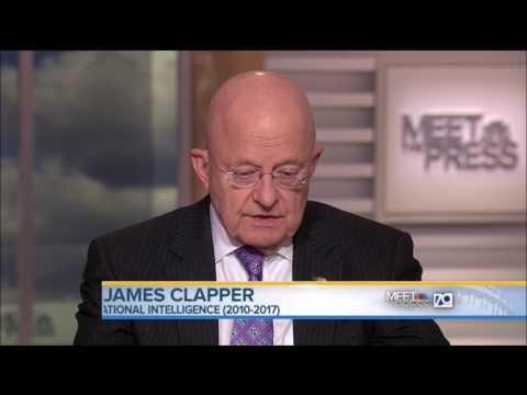 Spy Chief James Clapper: No Collusion Between Russia & Trump Campaign
