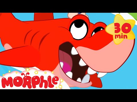 Morphle At The Sea - My Magic Pet Morphle | Cartoons For Kids | Morphle TV | Mila & Morphle