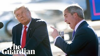 'Most resilient and brave person': Farage lavishs Trump with praise at campaign rally