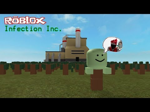 Roblox : Infection Inc #1 โรงงานผลิตซอมบี้กับเทพทรูปืนพกแสนโกง