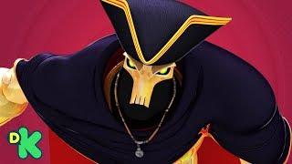 ¡Golden Bones pelea contra Zak Storm! | Zak Storm | Discovery Kids