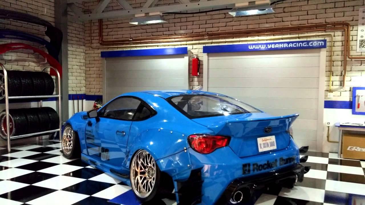 Rc Custom Garage Subaru Brz Rocket Bunny Vn2 Youtube