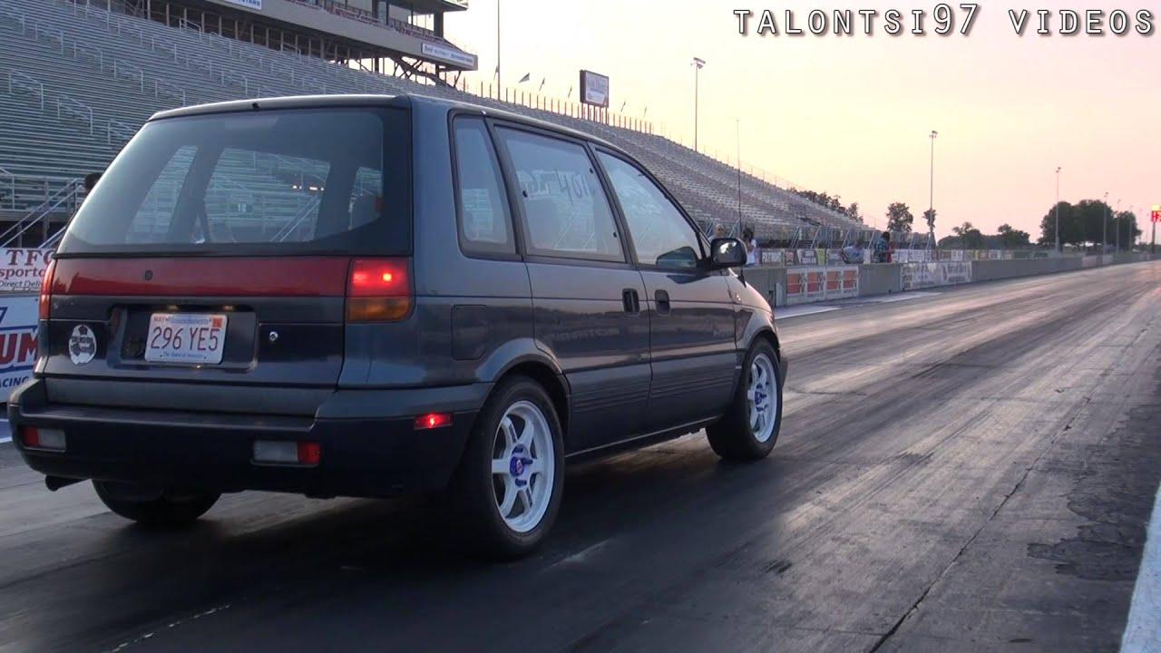 4g63 Swapped Minivan Goes 11 U0026 39 S  Sleeper Eagle Summit