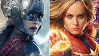 Natalie Portman Responds To Brie Larson Lifting Mjolnir