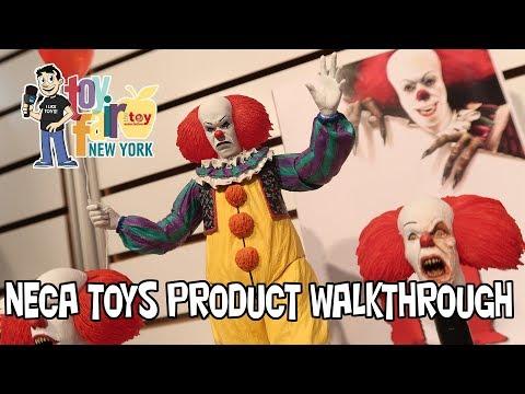 NECA Toys Product Walkthrough at New York Toy Fair 2018