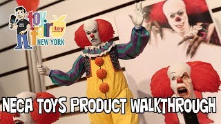 NECA Toys Product Walkthrough at New York Toy Fair 2018
