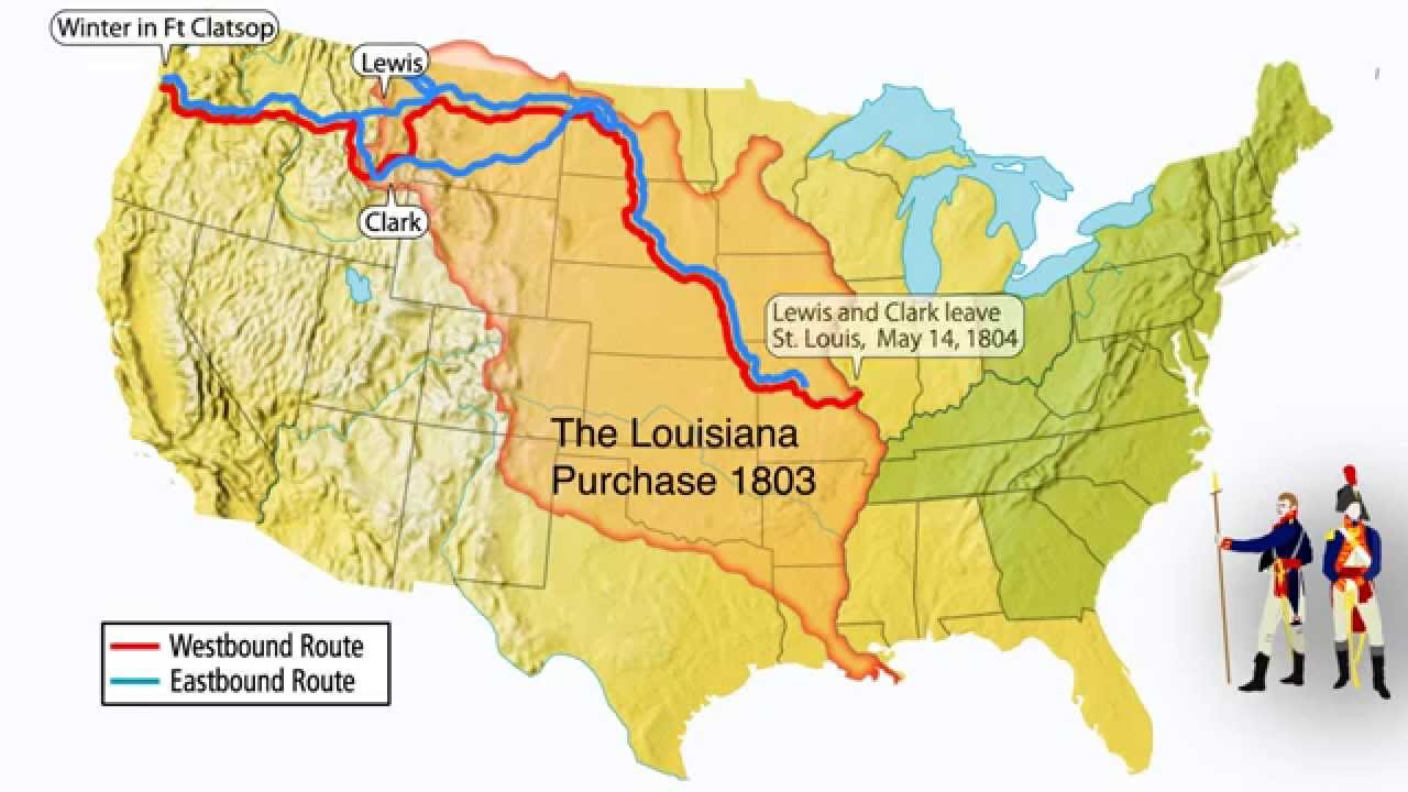 Lewis and Clark and the Louisiana Purchase  YouTube