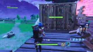 Fortnite GGP game play get sniped noob