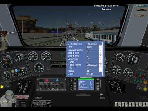 Simulatore Treno 5.02 Milano Centrale - Torino Porta Nuova IC 508