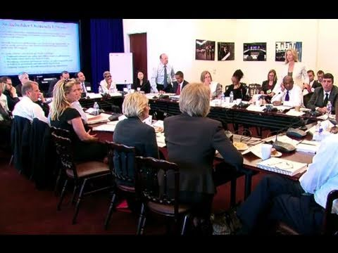 White House Council for Community Solutions Meeting: Part 3