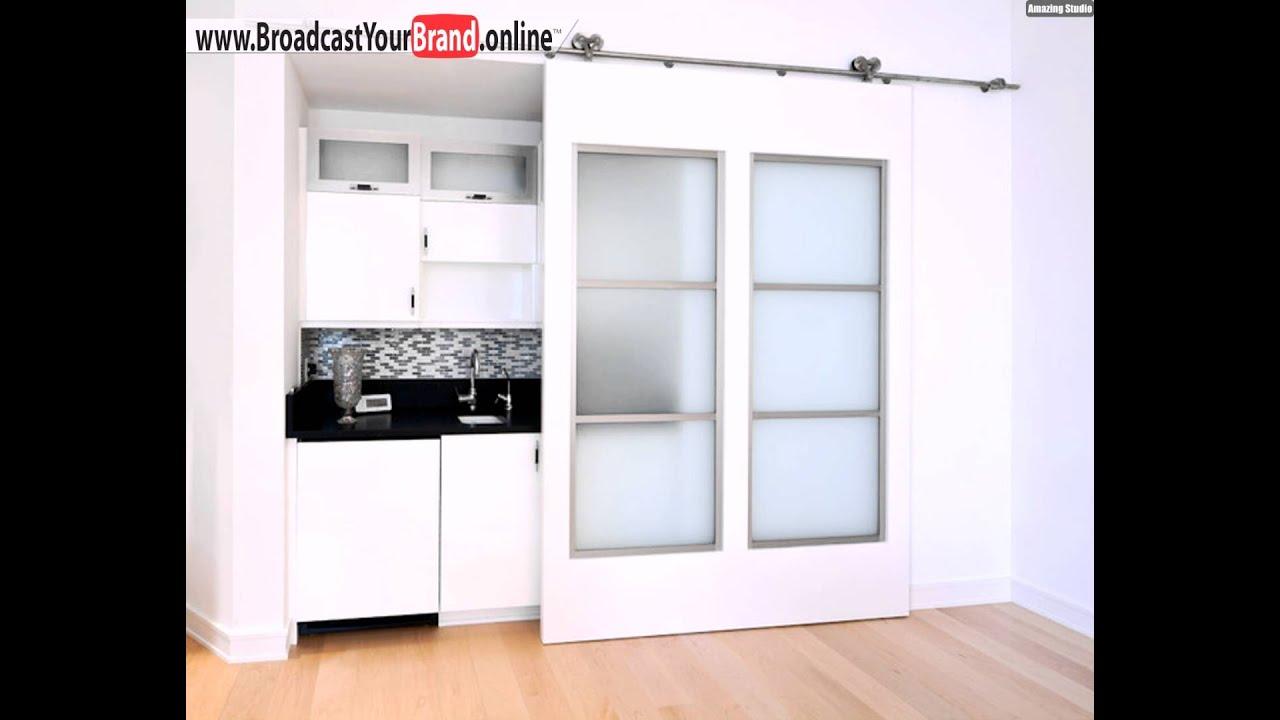 Schiebetüren Innen Oberschiene Gleitmechanismus Küche - YouTube