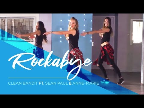 Rockabye – Clean Bandit – Sean Paul – Anne-marie -Easy Fitness Dance Choreography Zumba