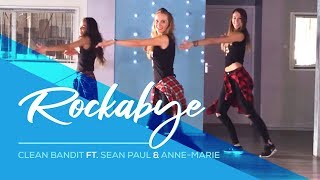 rockabye clean bandit sean paul anne marie easy fitness dance choreography zumba