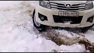 Off Road Great Wall Hover (Ховер) H3 and H2. Офф роуд на Ховер H2 и H3.Бездорожье.