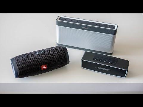 JBL Charge 3 vs Bose Soundlink (III & Mini II)