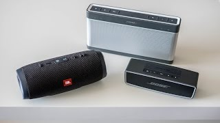 JBL Charge 3 vs Bose Soundlink (III & Mini II)