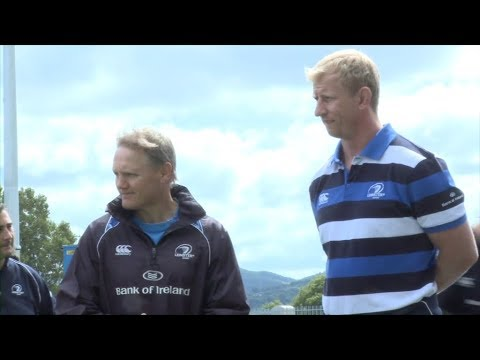 How Joe Schmidt started coaching in Ireland