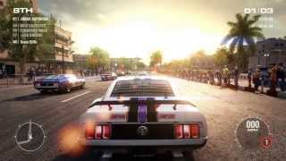 GRID 2 Ford Mustang MIAMI PC ULTRA SETTINGS Part 3 HD 1080P Gameplay / NO PS3 XBOX360