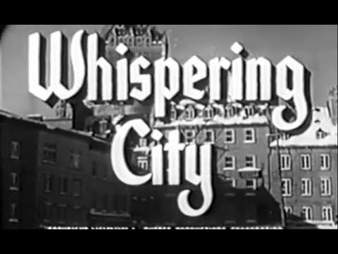 Film-Noir Crime Drama Movie - Whispering City (1947)
