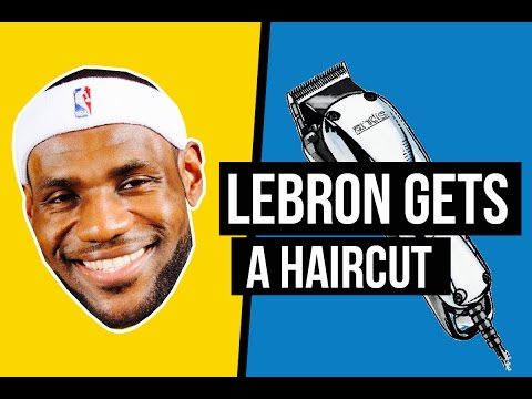 784bb1f9d52d The Shop Featuring LeBron James and Charles Barkley - YouTube