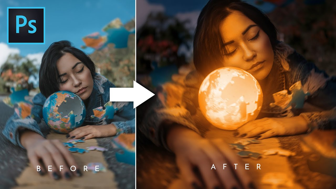 How To Glow Anything in Photoshop | Glowing Object | Photoshop Tutorial (Easy)
