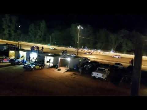 Stock 4 Feature - Cherokee Speedway 8-26-2017