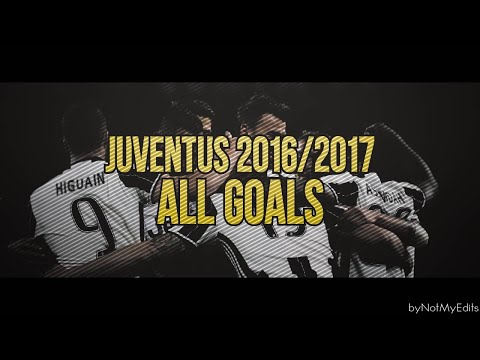 Juventus 2016-2017 All Goals With Italian Commentary