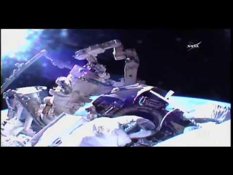 Nueva caminata espacial en la Estación Internacional