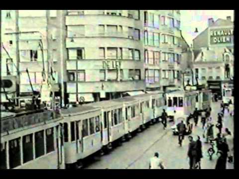 Verkeer in Antwerpen, 1953.