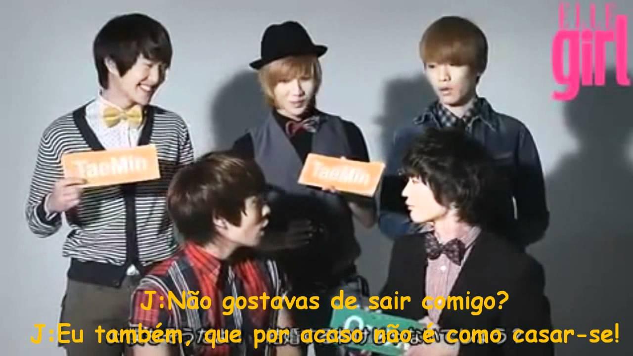 SHINee Elle Girl Card Game (1/2) [Legendado em Português ...