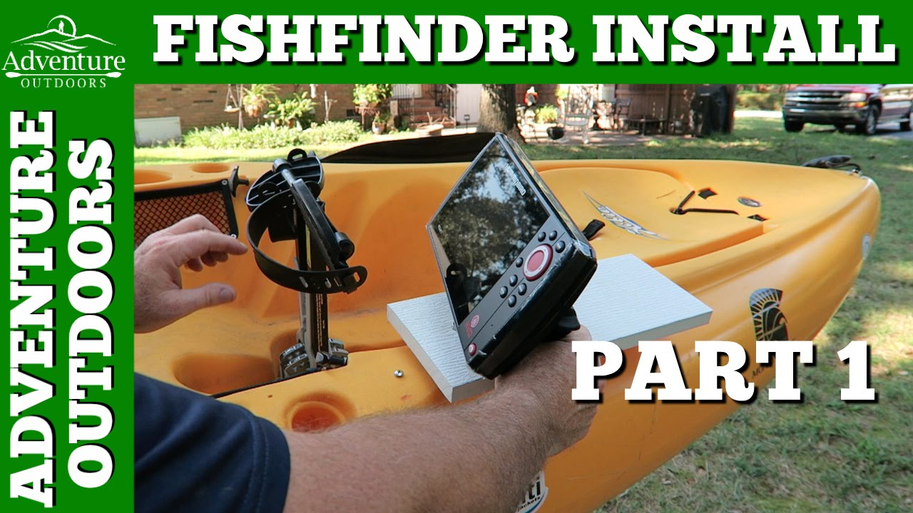 humminbird helix 7 fishfinder installation on hobie outback ~ part, Fish Finder