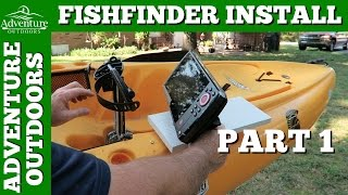 kayak accessories - humminbird helix 7 fishfinder installation on, Fish Finder