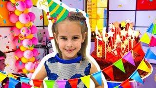 ДЕНЬ РОЖДЕНИЯ 7 ЛЕТ Алина отмечает с Друзьями КАК Мама и  Юляшка забыли про День Рождения?