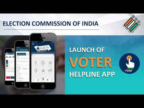 Voter Helpline Mobile App of Election Commission of India