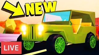 🔴Roblox Jailbreak Live! | NEW UPDATE Tonight? | Simon Says! & Battle Royale! | Road To 1850🔴